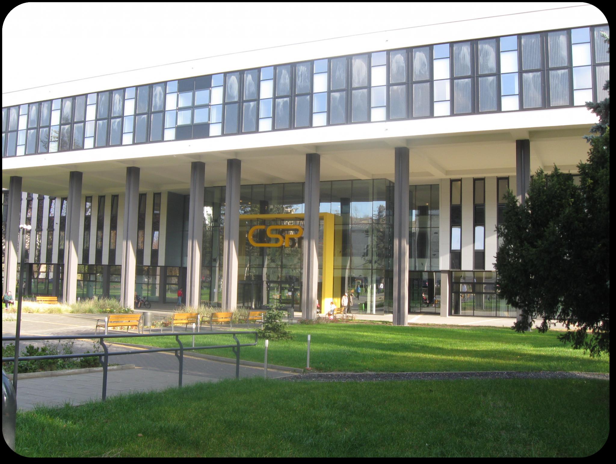 Miskolc, Csillag Központ üvegportál