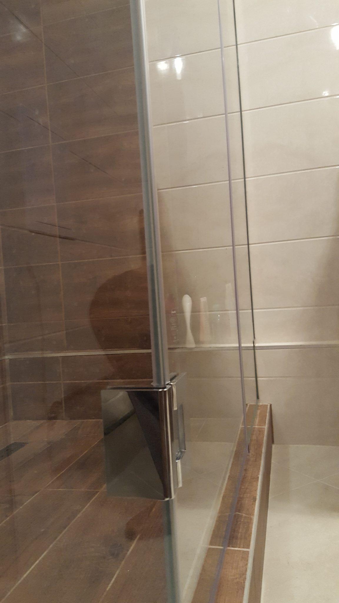 Asszimetrikus zuhanykabin