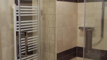 Fürdőszoba és az üveg találkozása