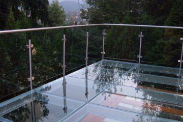 Járható üvegfelület, üvegfödém