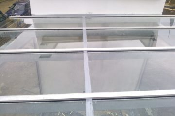 Üvegtető beépítés